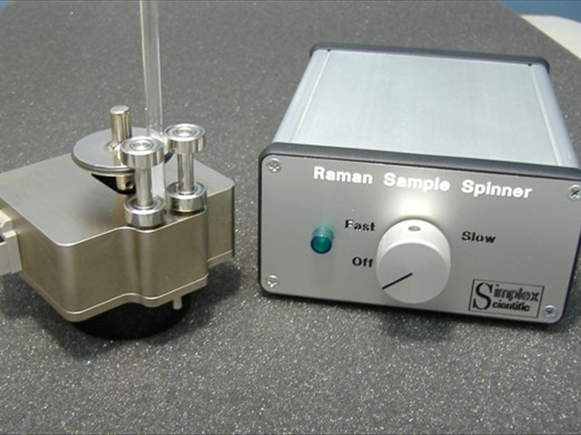 INNOVATIVE DESIGNS<br/><br/>Raman Sample Spinner Accessory
